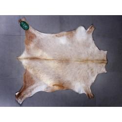 Alfombra cabra color natural